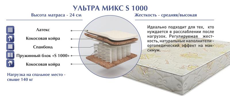 Комфорт «Ультра Микс S 1000»
