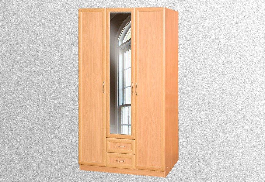 Шкаф 3-хдверный с зеркалом